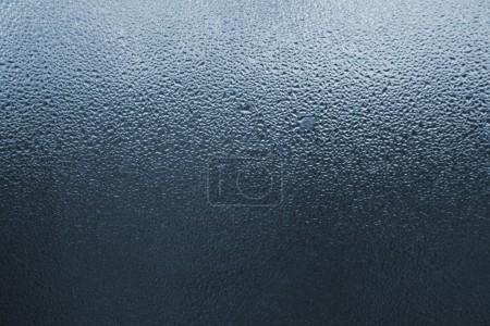 Drops on the window glass