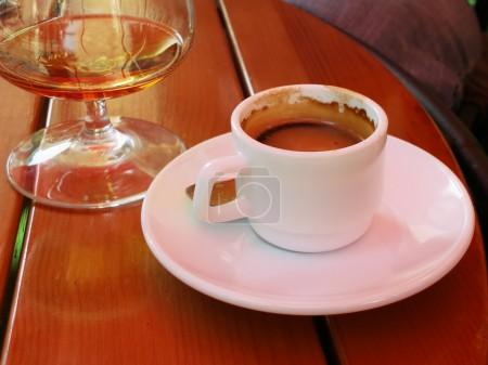 Coffe and cognac