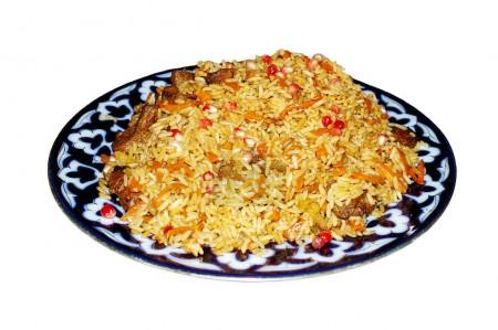 Pilaf with meat