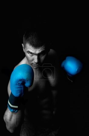 Picture of professional boxer