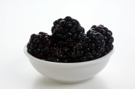 Some sweet organic blackberries