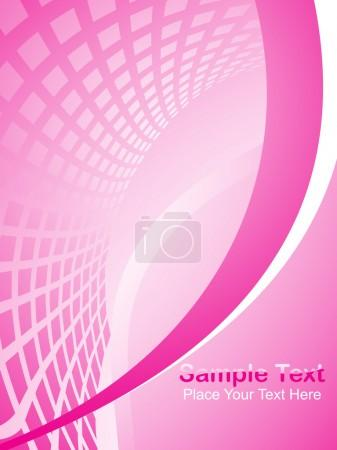 Background with abstract pattern