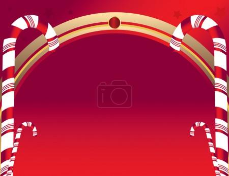 Candy cane background 4
