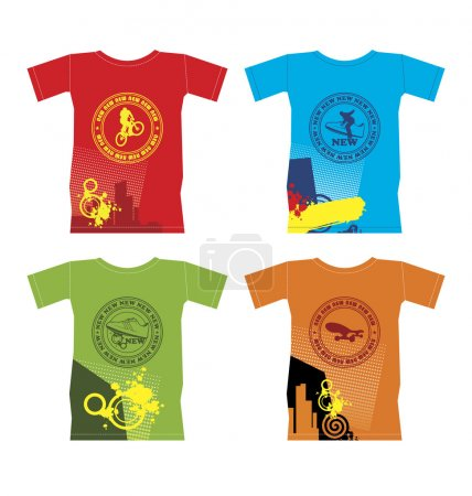 T-shirts for extreme sports 1