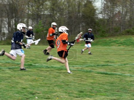 Lacrosse - little league game