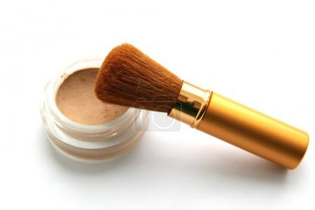 Brush for make-up and powder