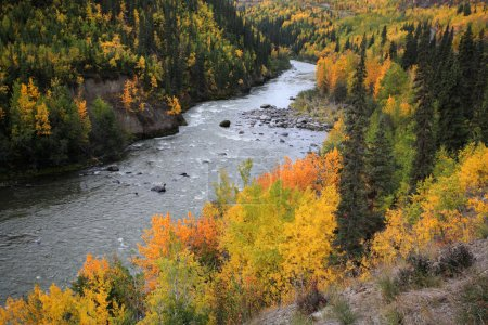 Grand Canyon des stikine River in Nordbritisch Columbia