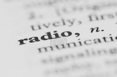 Dictionary Series - Radio